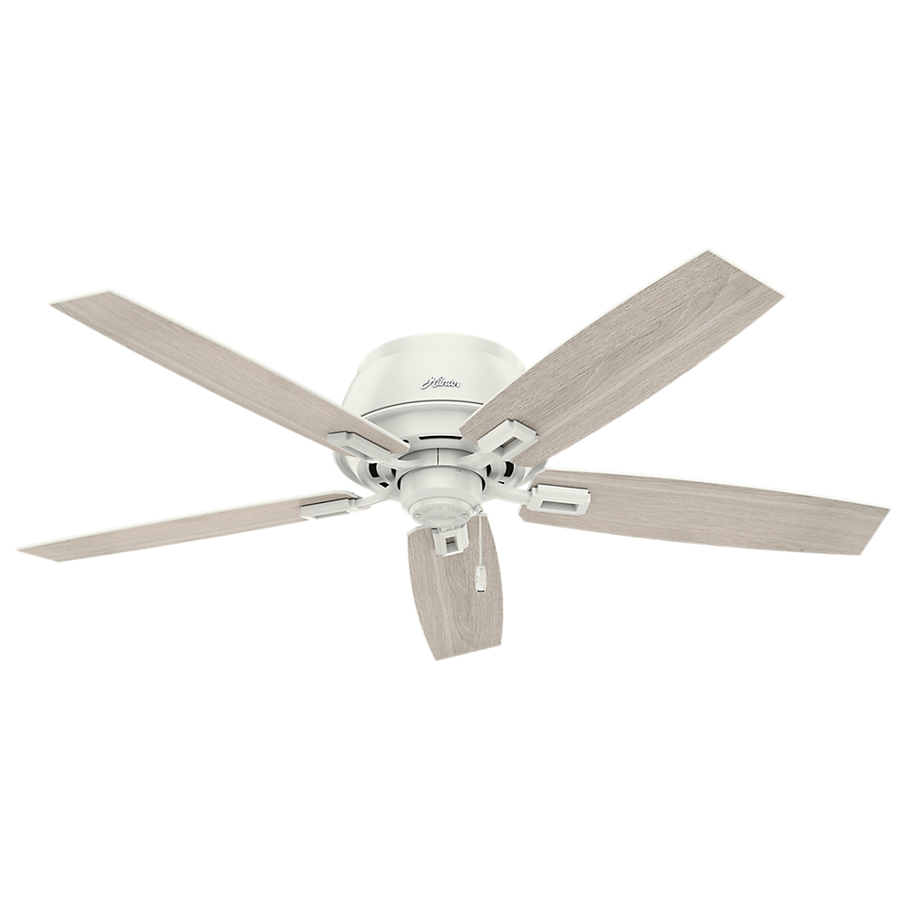 low profile white ceiling fan with light 42 quot casual low profile ceiling fan snow white