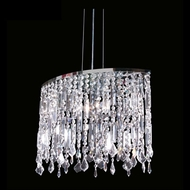 James Moder 40030S44 Impact Contemporary Collection Silver Island Lighting