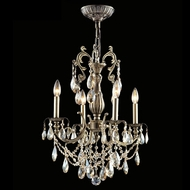 James Moder 40044MB2GT Impact Monaco Collection Monaco Bronze Mini Chandelier Lighting