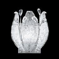 James Moder 40081 Florian Crystal Silver Wall Lamp