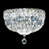 James Moder 40210 Crystal Silver Ceiling Light Fixture