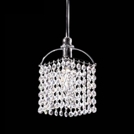 James Moder 40230S22 Impact Contemporary Collection Silver Mini Pendant Light