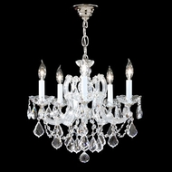James Moder 40255S22 Impact Maria Theresa Collection Silver Mini Chandelier Lighting