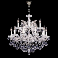 James Moder 40257S22 Impact Maria Theresa Collection Silver Ceiling Chandelier