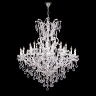 James Moder 40259S22 Impact Maria Theresa Collection Silver Lighting Chandelier
