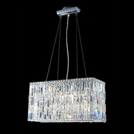 James Moder 40334S22 Impact Linear Collection Silver Halogen Kitchen Island Lighting