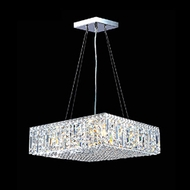 James Moder 40355S22 Impact Linear Collection Silver Halogen Lighting Pendant