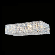 James Moder 40364S22 Impact Linear Collection Silver Halogen 24 Flush Lighting