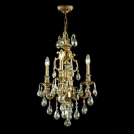 James Moder 40434PG2GT Impact La Paris Collection Paris Gold Mini Lighting Chandelier