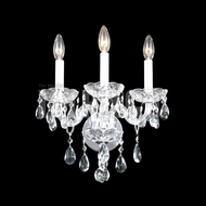 James Moder 40463 Place Ice Crystal Silver Lamp Sconce