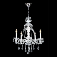 James Moder 40465S44 Impact Palace Ice Collection Silver Mini Lighting Chandelier