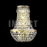 James Moder 40531G Imperial Crystal Gold Wall Light Fixture