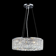 James Moder 40593S22 Impact Contemporary Collection Silver Halogen Drop Lighting