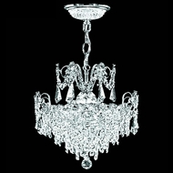 James Moder 40623S22 Impact Victoria Silver Mini Ceiling Chandelier