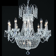 James Moder 40638S22 Impact Empire Collection Silver Lighting Chandelier