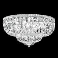 James Moder 40653 Crystal Silver Overhead Lighting Fixture