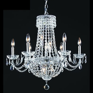 James Moder 40660S22 Impact Empire Collection Silver Chandelier Lamp