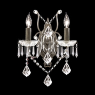 James Moder 40672 Charleston Crystal Bronze Wall Light Sconce