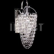 James Moder 40714 Silver Wall Sconce Light