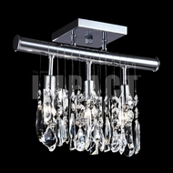 James Moder 40761S22 Silver Ceiling Light Fixture