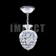 James Moder 40791S22 Place Ice Crystal Silver Mini Pendant Lighting Fixture
