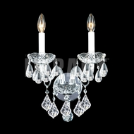 James Moder 40792 Place Ice Crystal Silver Sconce Lighting