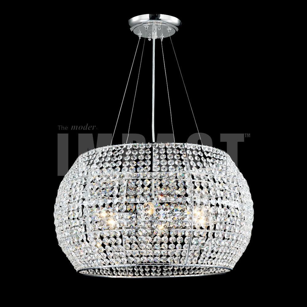 James Moder 40814S22 Silver Hanging Pendant Lighting