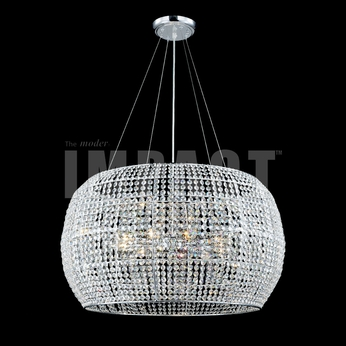 James Moder 40818S22 Silver Hanging Pendant Light