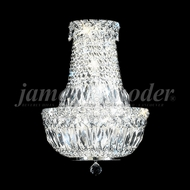 James Moder 92511 Prestige Crystal Silver Wall Light Sconce