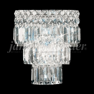 James Moder 92521 Prestige Crystal Silver Wall Light Sconce