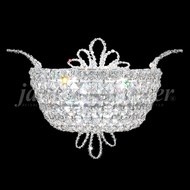 James Moder 94107 Princess Crystal Silver Wall Sconce