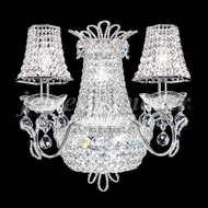 James Moder 94109 Princess Crystal Silver Wall Lighting