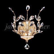 James Moder 94451 Florale Crystal Gold Wall Sconce Lighting