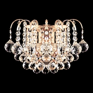 James Moder 94802 Jacqueline Crystal Gold Wall Mounted Lamp