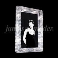 James Moder 95637S22 Eclipse Fashion Crystal Silver Wall Mirror