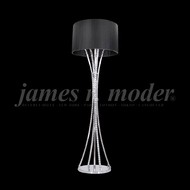 James Moder 95642 Eclipse Fashion Crystal Silver Floor Lamp