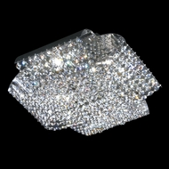 James Moder 95644 Eclipse Fashion Crystal Silver Overhead Lighting