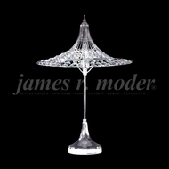 James Moder 95965 Silver Side Table Lamp