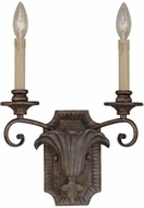 Jeremiah 25522-BBZ Ferentino Burleson Bronze Wall Sconce