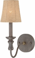 Jeremiah 27531-SI Quincy Seville Iron Lamp Sconce