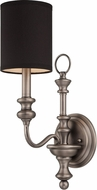 Jeremiah 28561-AN Willow Park Antique Nickel Wall Light Sconce