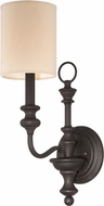 Jeremiah 28561-GB Willow Park Gothic Bronze Wall Lighting Fixture