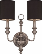 Jeremiah 28562-AN Willow Park Antique Nickel Wall Light Sconce