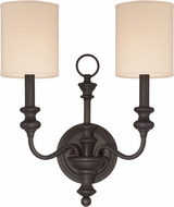 Jeremiah 28562-GB Willow Park Gothic Bronze Wall Sconce Light
