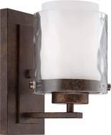 Jeremiah 35401-PR Kenswick Peruvian Bronze Sconce Lighting