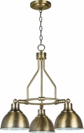 Jeremiah 35923-LB Timarron Legacy Brass Mini Lighting Chandelier