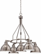Jeremiah 35925-AN Timarron Antique Nickel Chandelier Light