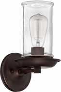 Jeremiah 36161-ABZ Thornton Aged Bronze and Natural Rope Wall Sconce Lighting