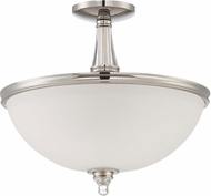 Jeremiah 37453-PLN Laurent Polished Nickel Home Ceiling Lighting
