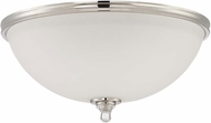 Jeremiah 37483-PLN Laurent Polished Nickel Overhead Light Fixture